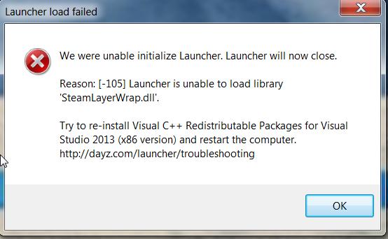 ⚓ T135982 Launcher will not start