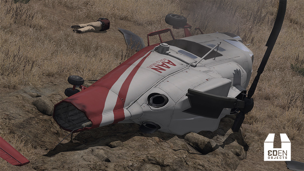 ⚓ T71119 Make helicopter Crashes more realistic / not always exploding