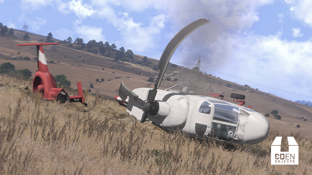⚓ T71119 Make helicopter Crashes more realistic / not