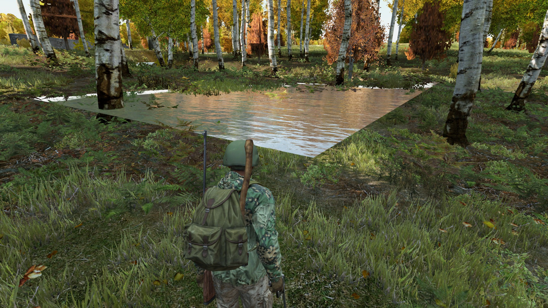 ⚓ T117819 Floating Water/Trees near NW Chernarus Military Area